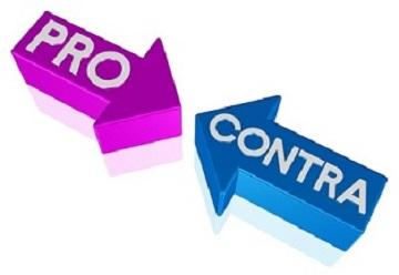 Pro und Contra bei Verträgen
